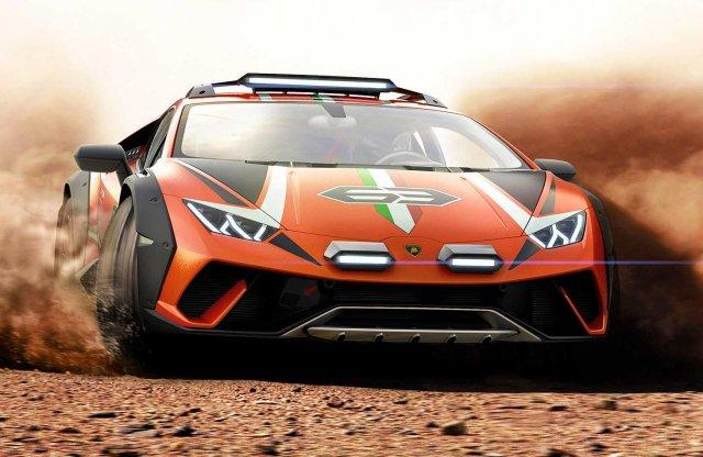 Valósággá válhat az offroad Lamborghini Huracán