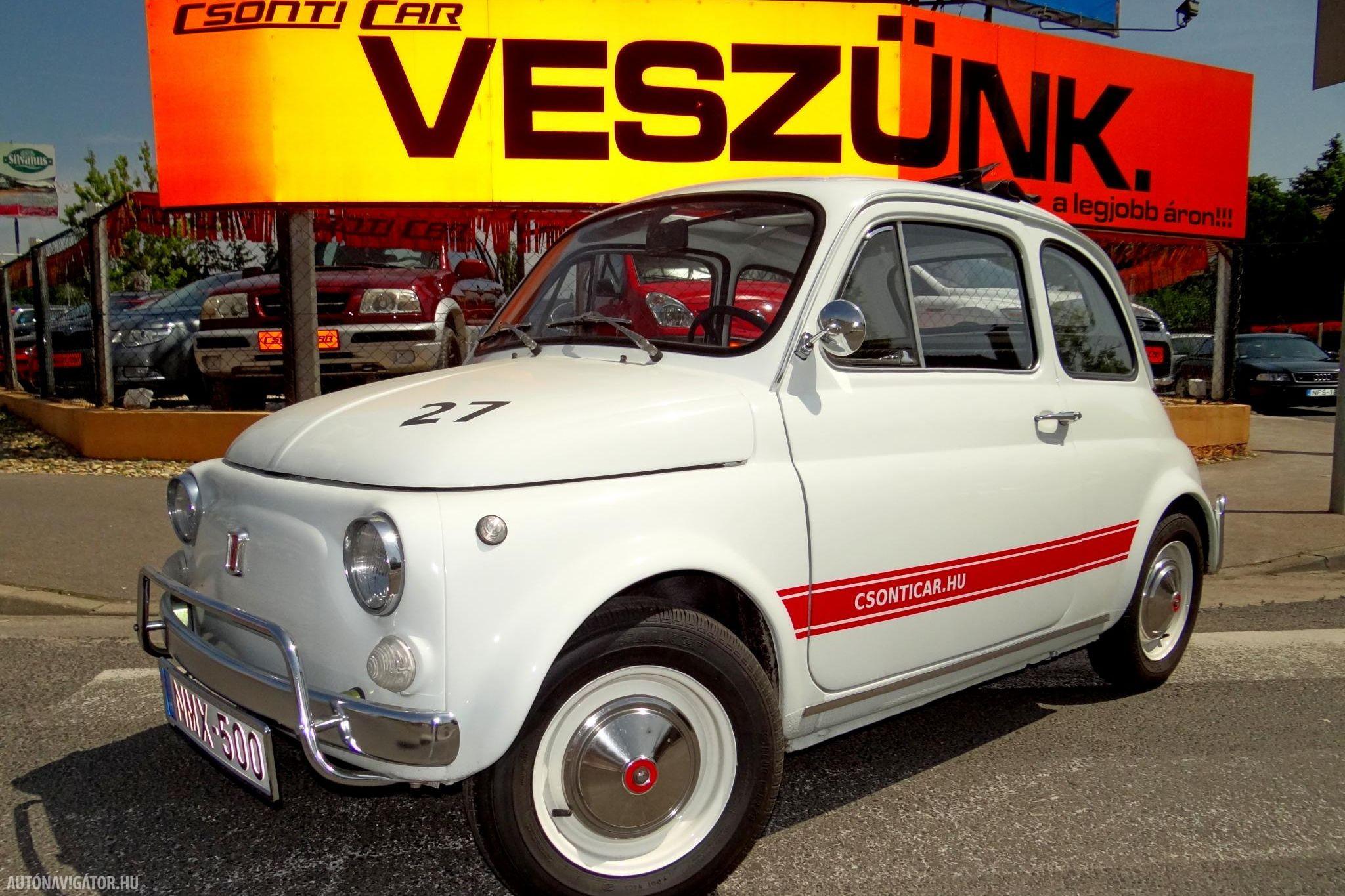 Kisautó, nagy szerelem – Csonti Fiat 500-asát próbáltuk!