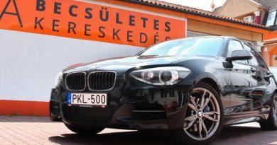 Gengsztermakett – BMW M135i