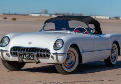 Pompás formában várja új gazdáját az utolsó 1953-as Corvette