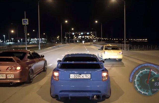 A Need for Speed film se volt annyira jó, mint ez a videó