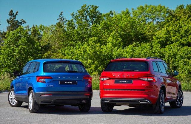 Meglepetésként frissült a Skoda két SUV-ja