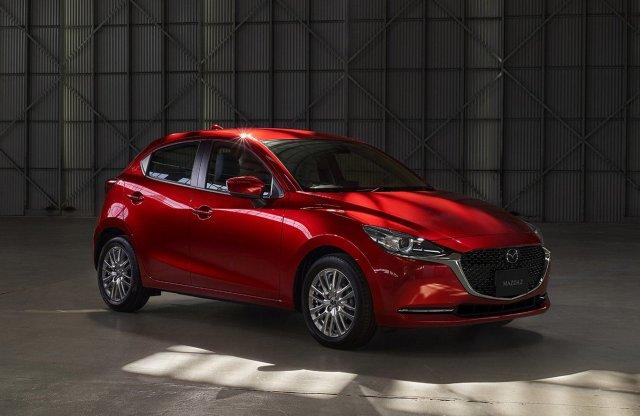 Elegánsabb lett a Mazda2