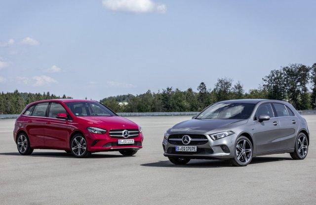 Árammal is tankolható lesz a Mercedes A- és B-osztály