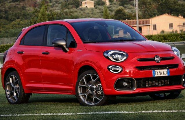 Sportváltozatot kap a Fiat 500X