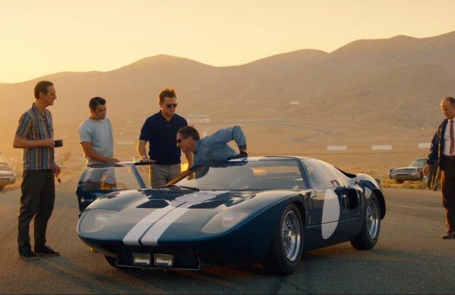 Szép film lesz a Ford v Ferrari, itt az új előzetes
