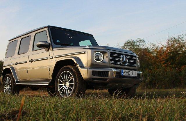 Őserő – Mercedes G 500 teszt