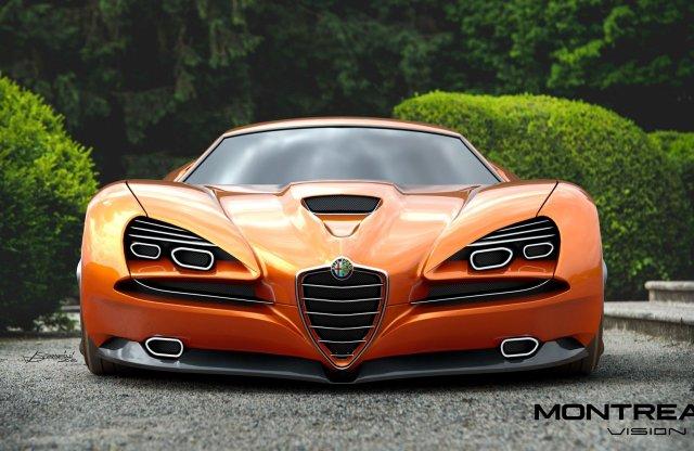 Lenyűgöző sportautóként éledhetne újjá az Alfa Romeo Montreal