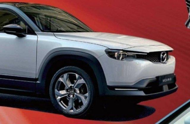 Öngyilkos ajtókat kap a Mazda villany-SUV-ja?