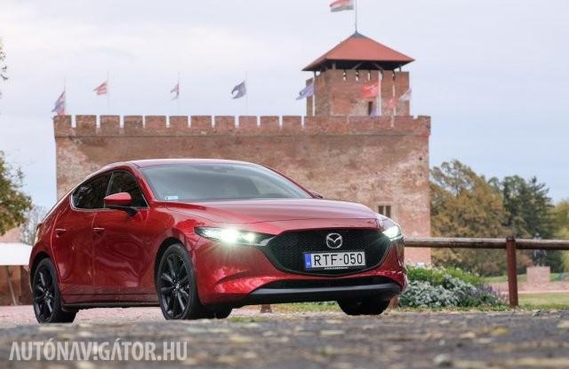 Várjuk a csodát – Mazda3 Skyactiv-X