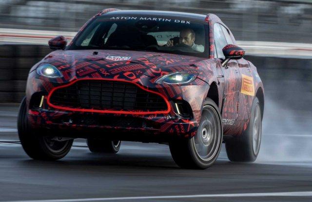 Bőrben fürdik az Aston Martin DBX utastere, már az árát is tudni
