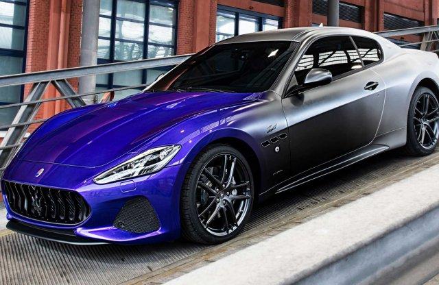 Trikolor fényezéssel búcsúzik a Maserati GranTurismo