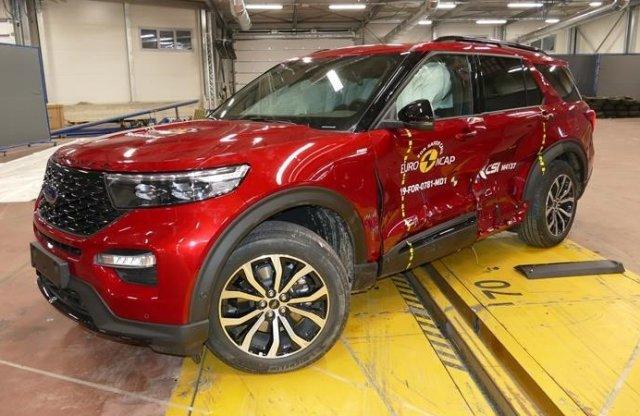 Amerikai autó tört ötcsillagosra az Euro NCAP