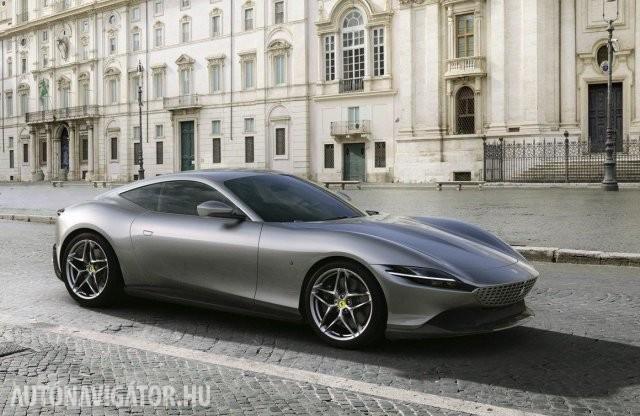 Az olasz főváros nevét viseli az új Ferrari