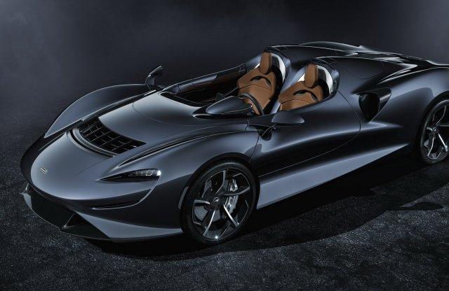 Szélvédő nélkül 300 felett, ez a McLaren Elva