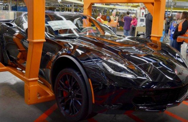 Egy korszaknak vége, elkészült az utolsó orrmotoros Corvette