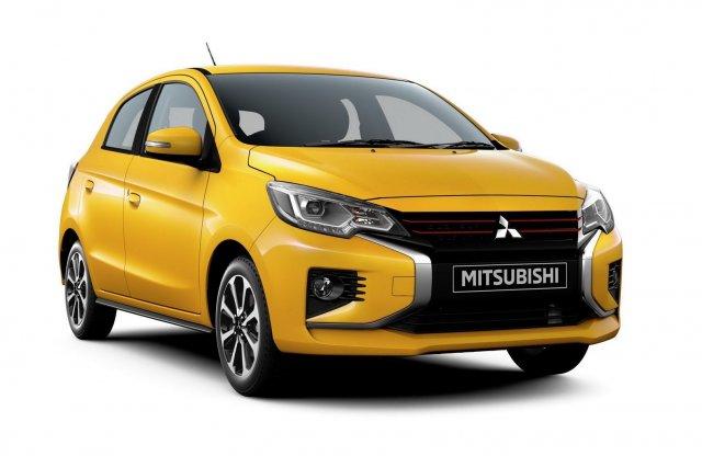 Friss arcot kapott a Mitsubishi Space Star
