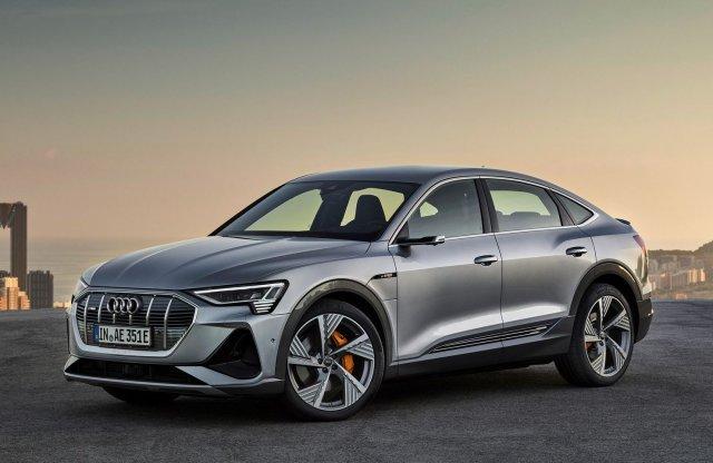 Divatosabb formával támad az Audi e-tron