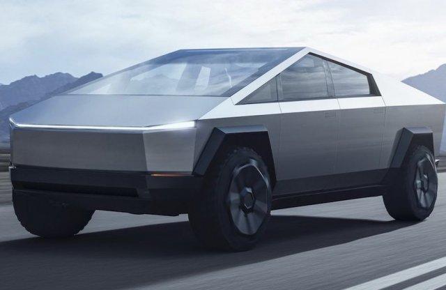 Szürreális pickuppal sokkol a Tesla