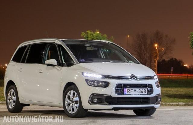 Kényelemre vágyó nagycsaládosoknak: Citroën Grand C4 SpaceTourer