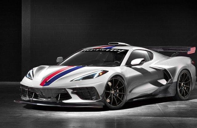 1200 lóerősre gyúrja a Hennessey az új Corvette C8-at