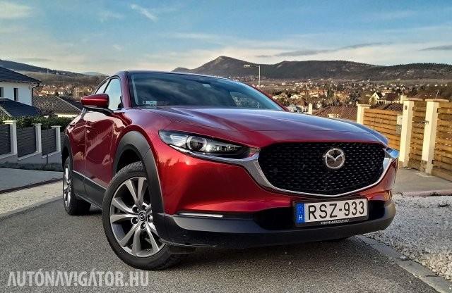 Szép, de mi az értelme? – Mazda CX-30 G122