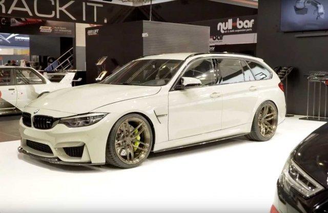 A gyár helyett egy rajongó építette meg a BMW M3 kombit