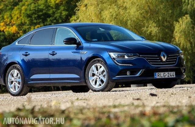 A legjobb cégautó? Renault Talisman Limited teszt