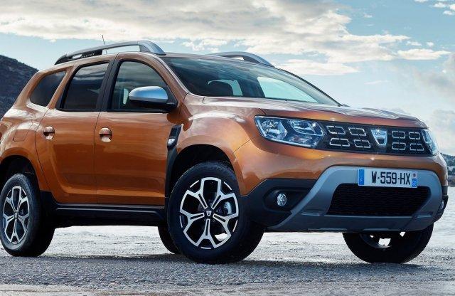 Már kigurult az 500 ezredik új Dacia Duster a gyárkapun!