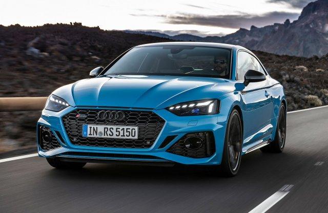 Frissítettek picit az Audi RS 5 modelleken
