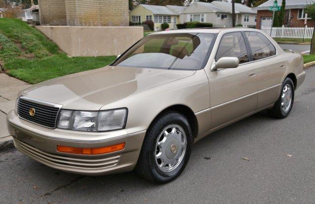 Full bőr, kevés km: makulátlan állapotú Lexus LS 1993-ból