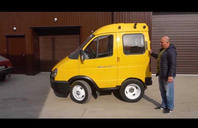 Az oroszok újraértelmezték a minibusz fogalmát