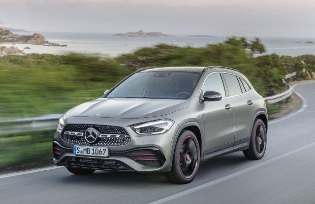 Jobban illik a SUV-ok közé az új Mercedes GLA, mint az elődje