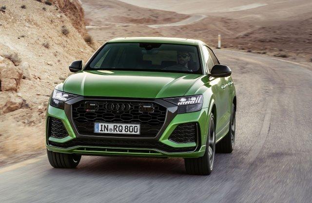 Mint egy dühös sárkány – Jövőre ideér az Audi RS Q8