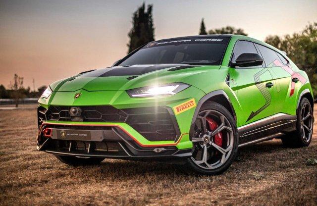 Pályára optimalizált SUV a Lamborghinitől