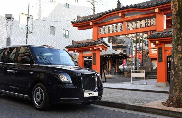 Japánban is lesznek londoni taxik