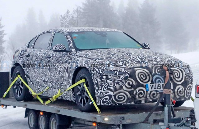 Az első képek a következő Jaguar XJ-ről
