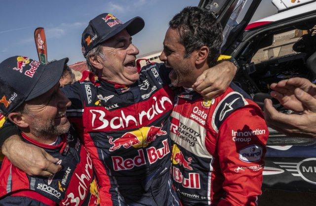 Carlos Sainz harmadik Dakarját nyerte