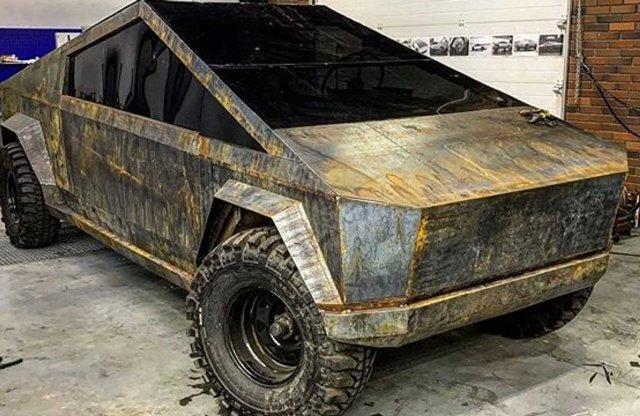 UAZ-ból készült az orosz Tesla Cybertruck