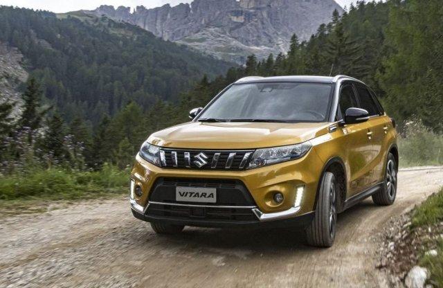 Mutatjuk az új, már hibrid Suzuki Vitarát!