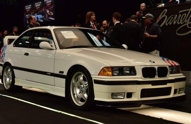 Majdnem 105 milliót adtak Paul Walker egyik BMW-jéért!
