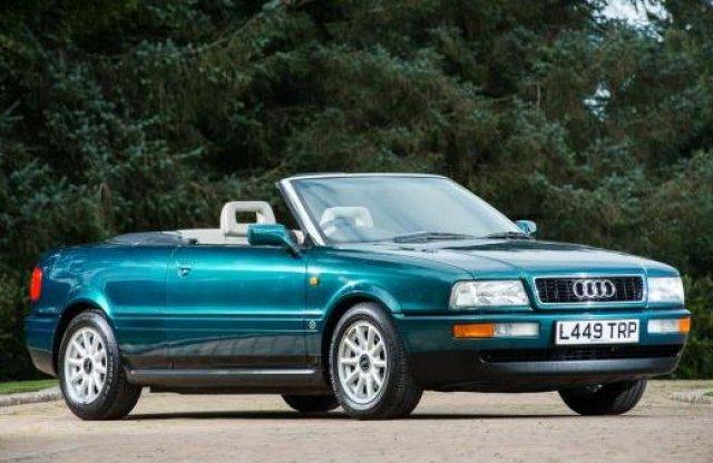 Korábbi tulajdonosa miatt értékes Audi kerül árverésre