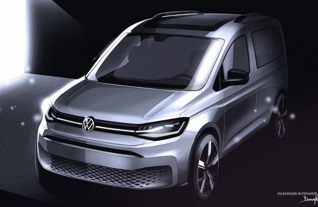 Februárban érkezik a VW Caddy ötödik generációja