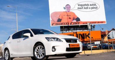 Prémium hibrid egy új Dacia áráért? – Lexus CT 200h