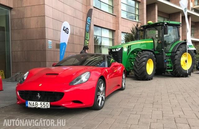 Önvezetés, járműkövetés, távdiagnosztika – a mezőgazdaságban is