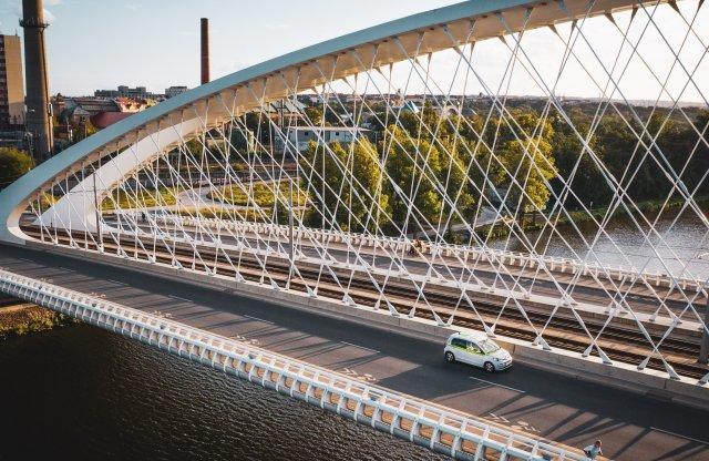 Skoda híján Volkswagen e-up!-okkal veszi be Prágát is a GreenGo