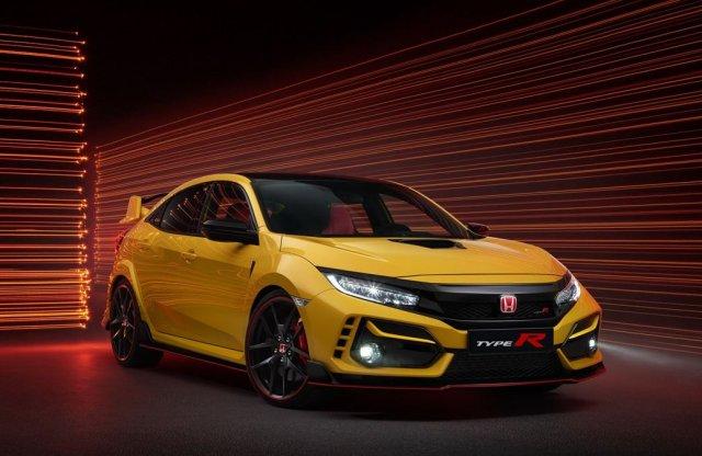Új változatokkal bővül a Honda Civic Type R széria