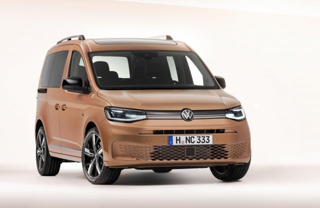 Ez itt a vadonatúj Volkswagen Caddy