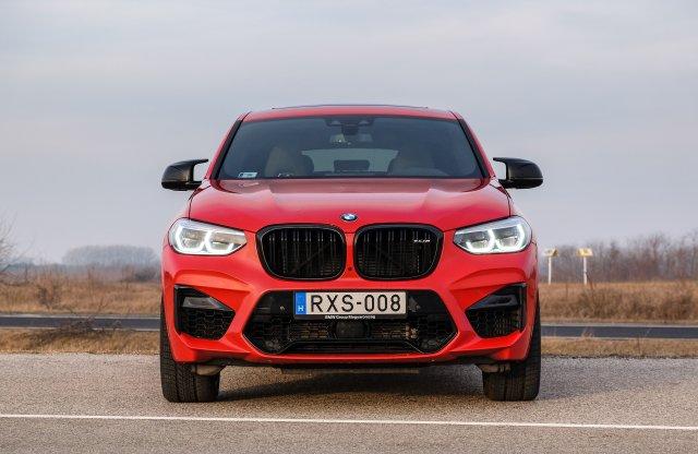 Menőségérzet – BMW X4 M Competition