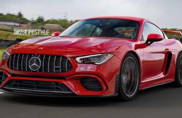 Ilyen is lehetne a következő kétüléses Mercedes-AMG